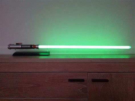luke skywalker fx lightsaber wars return of the jedi master replica 2005