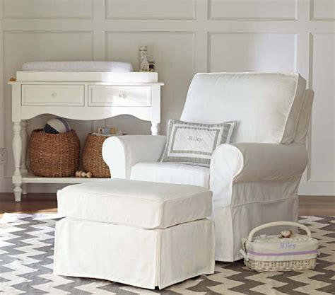 Pottery Barn Kids Comfort Swivel Glider Must Have Baby Pottery Barn Glider And Ottoman