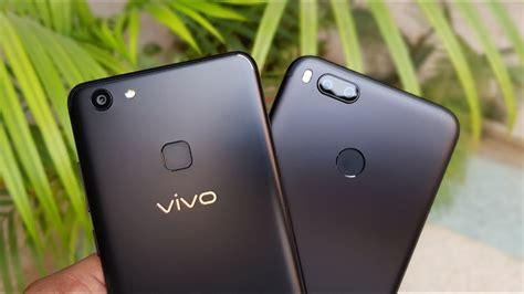Harga Hp Merk Vivo V7 adu kebut dan kamera xiaomi mi a1 vs vivo v7 unbox id