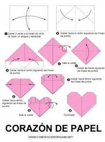 como hacer un corazon de papel facil san valentin coraz 243 n de papel comohacerorigami net