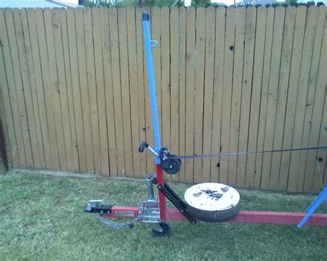 homemade boat trailer winch post harbor freight bolt together kit trailers