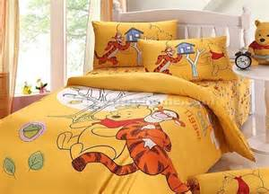 Winnie The Pooh Bedroom Sets Yellow Winnie The Pooh And Tiger Bedding Boys Bedding Sets