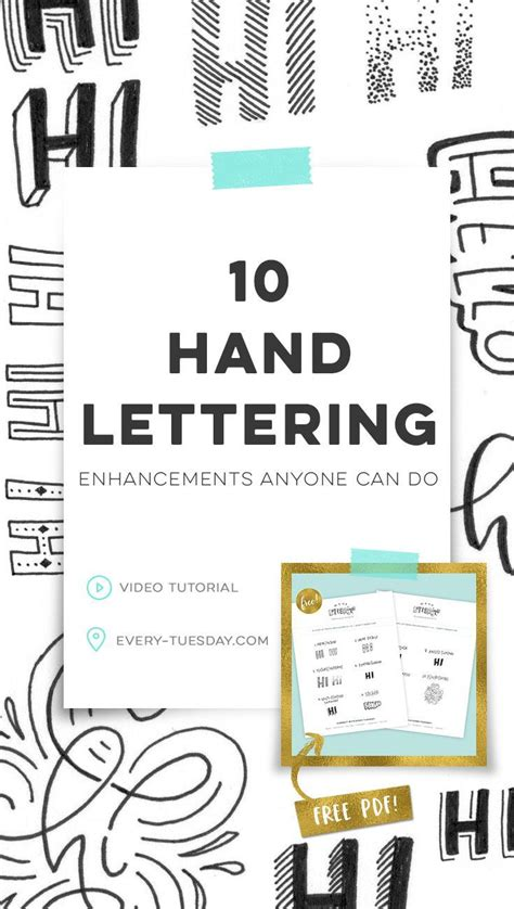 lettering tutorial español pdf best 25 hand lettering ideas on pinterest calligraphy