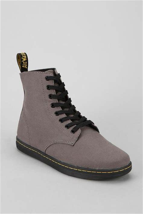 mens dr martens alfie boot dr martens alfie 8 eye sneaker boot in gray for grey