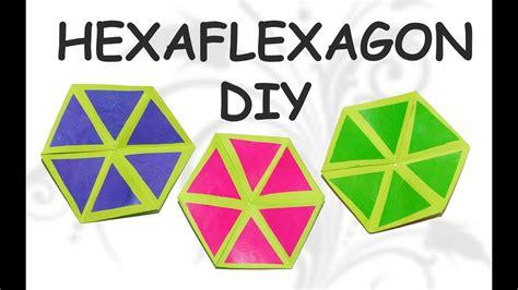 Origami Hexaflexagon - diy paper crafts ideas origami hexaflexagon tutorial