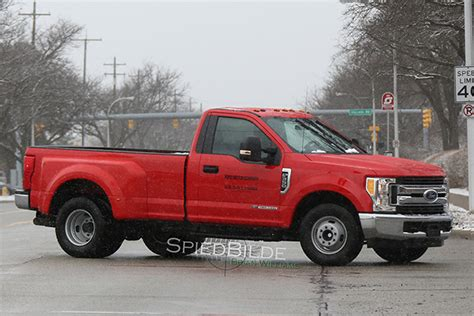 2016 Ford F 350 Crew Cab Configurations by 2017 F 350 Single Cab Dually With 6 7 Diesel Spied