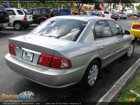 2003 Kia Optima Lx 2003 Kia Optima Lx Silver Gray Photo 8