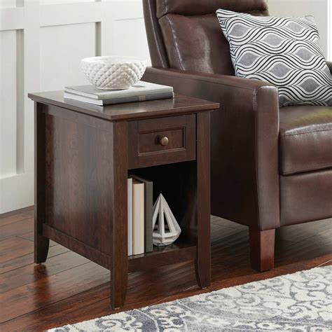 better homes and gardens end table recliner side table plans decorative table decoration