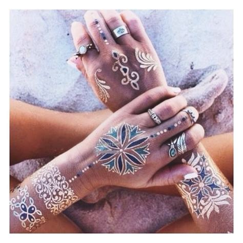 henna tattoo metallic 499 best metallic temporary flash tattoos images on