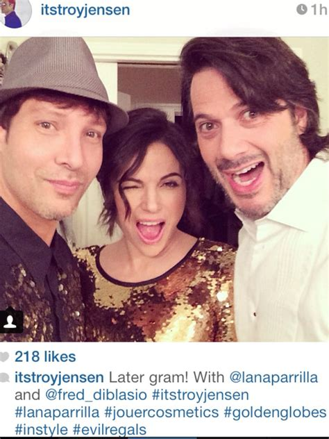 lana parrilla troy jensen troy jensen on instagram with fred di blasio and lana