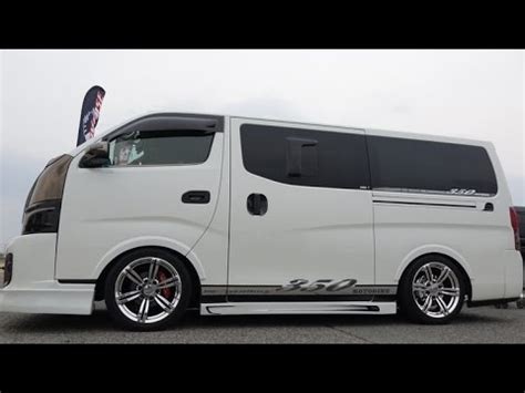 nissan urvan modification 4k nissan caravan urvan nv350 modified 2015 日産キャラバン