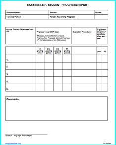 iep iep planning form sample special ed forms
