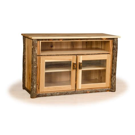 Rustic Tv Cabinet by Rustic Hickory And Oak