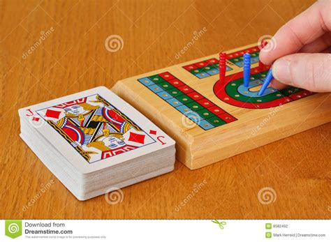 How Do You Play Crib by Cribbage Stock Photography Image 8582492