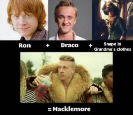 Plus draco plus snape in grandma s clothes equals weknowmemes