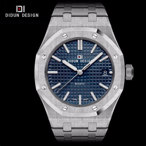 design is one the vignellis watch online didun mens montres de luxe en acier plein marque montres 192