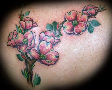 dogwood flower tattoo flower tattoos design