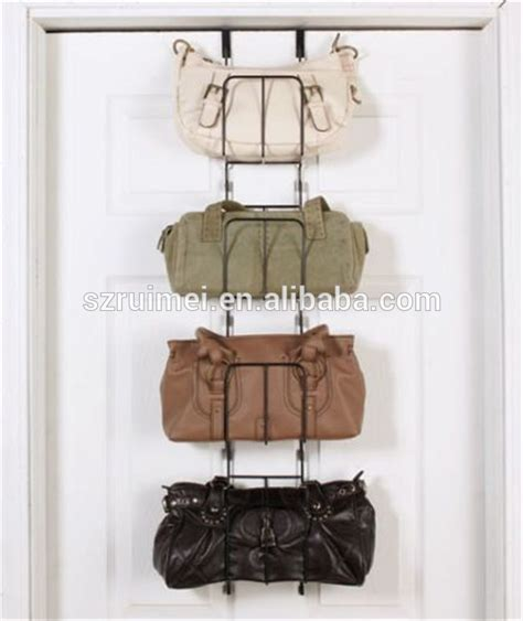 over the door purse rack metal wire over the door purse storage purse rack metal hanging bag organizer buy hanging bag
