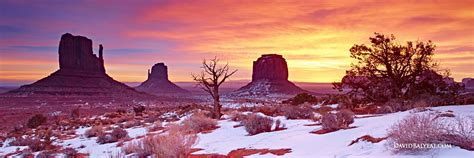 National Landscape Definition Primordial Earth Monument Valley David Balyeat