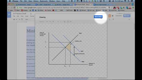 create economic graphs drawing economics diagrams in docs