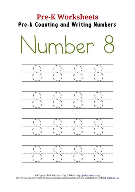8 best images of writing printable kindergarten worksheets writing number 8 worksheet pre k worksheets org