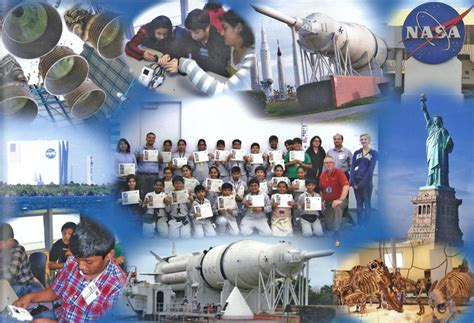 Experience Space Travel At The Astronaut Of Fame by City International School Journey To Nasa National