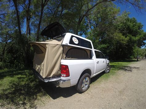 truck bed pop up cer topperezlift turns your truck and topper into a pop up cer
