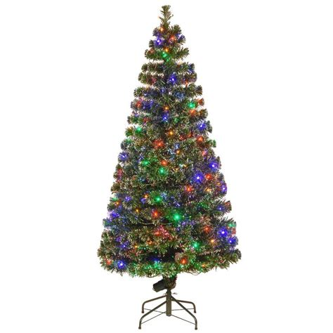 national tree company 6 ft fiber optic evergreen
