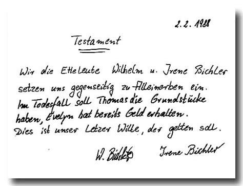 Kostenlose Vorlage Für Berliner Testament Testament Vorlage Kostenlosen