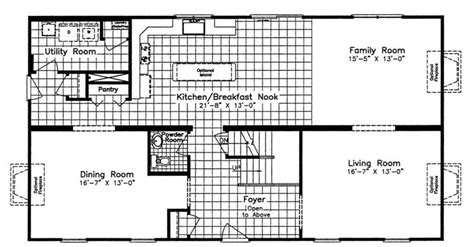 devonshire floor plan devonshire nna 2740 square foot two story floor plan