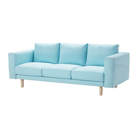 norsborg sofa cover edum light blue ikea
