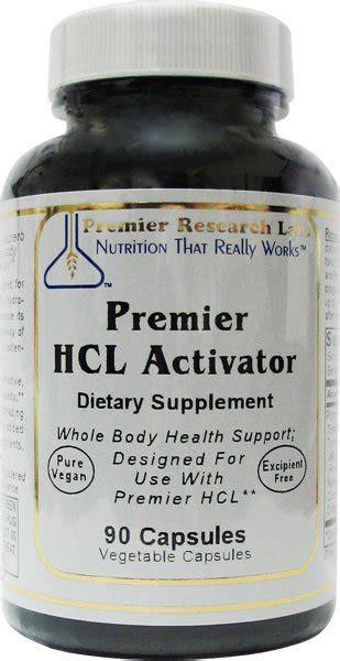 Hcl Detox Program by Buy Biotrace Premier Hcl Activator 90 Caps
