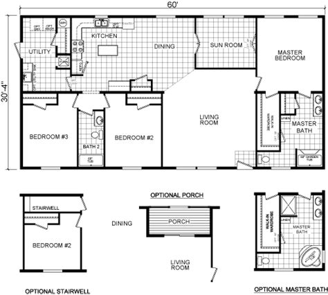 redman manufactured homes floor plans mobile home floor plans redman house design ideas