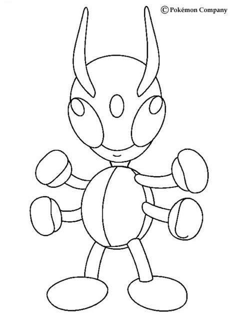 bug pokemon coloring pages volbeat
