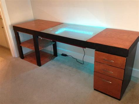 gaming pc desk diy pc gaming desk home design ideas