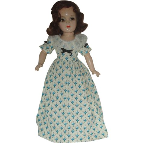 unmarked composition doll 14 quot unmarked composition doll circa 1940 s sold on ruby