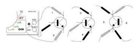 mengukur transistor darlington mengukur transistor menggunakan multi meter koleksi skema rangkaian artikel elektronika