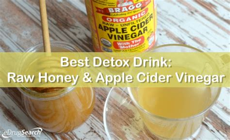 Dr Oz Detox Drink Apple Cider Vinegar by Best Detox Drink Honey Apple Cider Vinegar