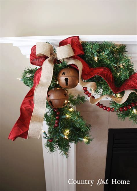 country girl home  chirstmas decorations