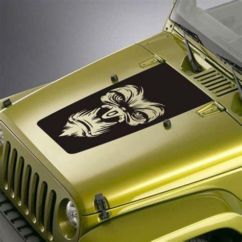 jeep decals gorilla jeep blackout decal sticker jeepazoid