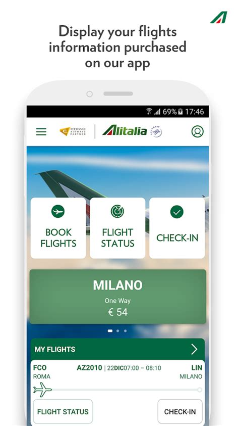 check in mobile alitalia alitalia android apps on play