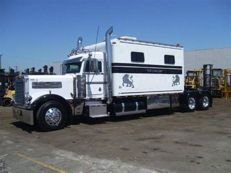 Semi Trucks With Big Sleepers For Sale by Peterbilt Sleeper Referatruck Big Rigs