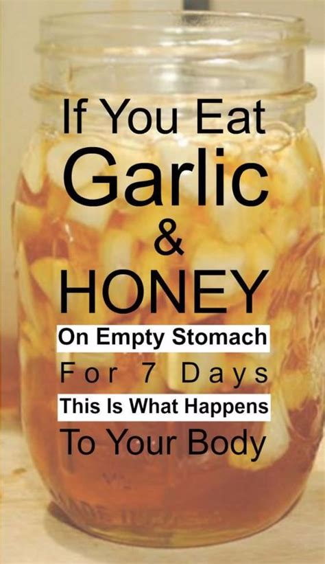 Can You Eat When You Do The 2day Garden Detox by If You Eat Garlic And Honey On An Empty Stomach For 7 Days