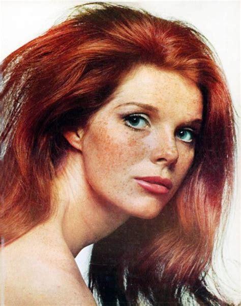 english actress with red hair samantha eggar photo by bert stern august 1965 http