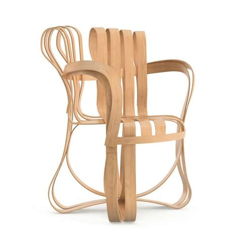 Ghery Chair - frank gehry cross check arm chair knoll palette