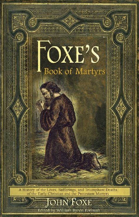 foxes book  martyrs