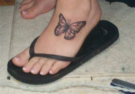 top of foot tattoo 25 wonderful butterfly tattoos on foot creativefan