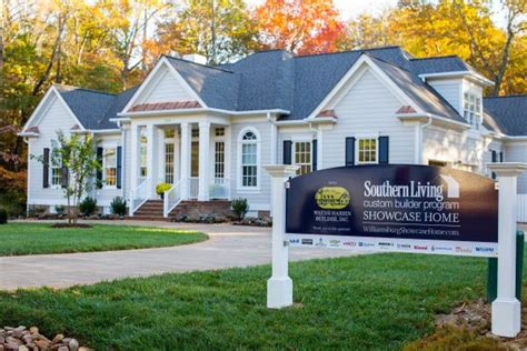last weekend to tour the southern living showcase home in ford s colony williamsburg virginia