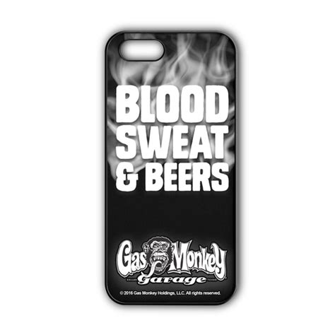Gas Monkey Garage Blood Iphone All Hp gas monkey garage iphone cover quot blood sweat beers quot dmx13556 dmax shop