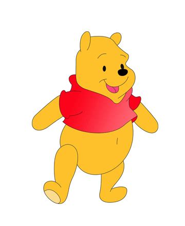 what color is winnie the pooh winnie the pooh pictures to print